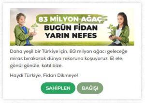 fidan kampanyası